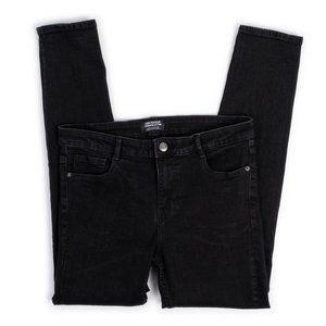 """Zara Trafaluc Denim Collection black skinny jeans 30""""W"""
